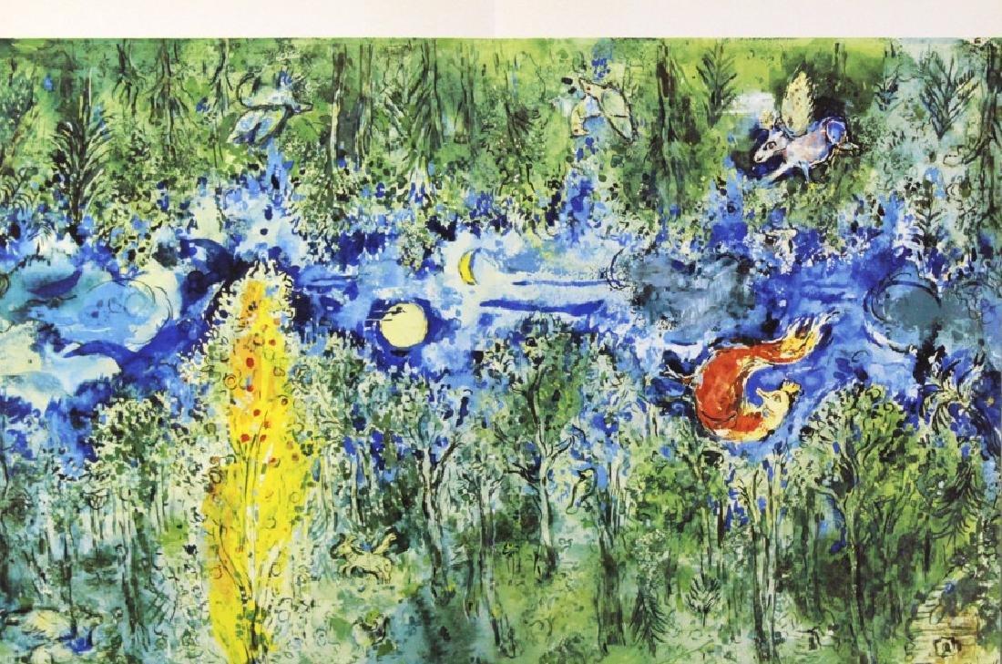 10 Calder Matisse Chagall Color Litho Bookplates - 4