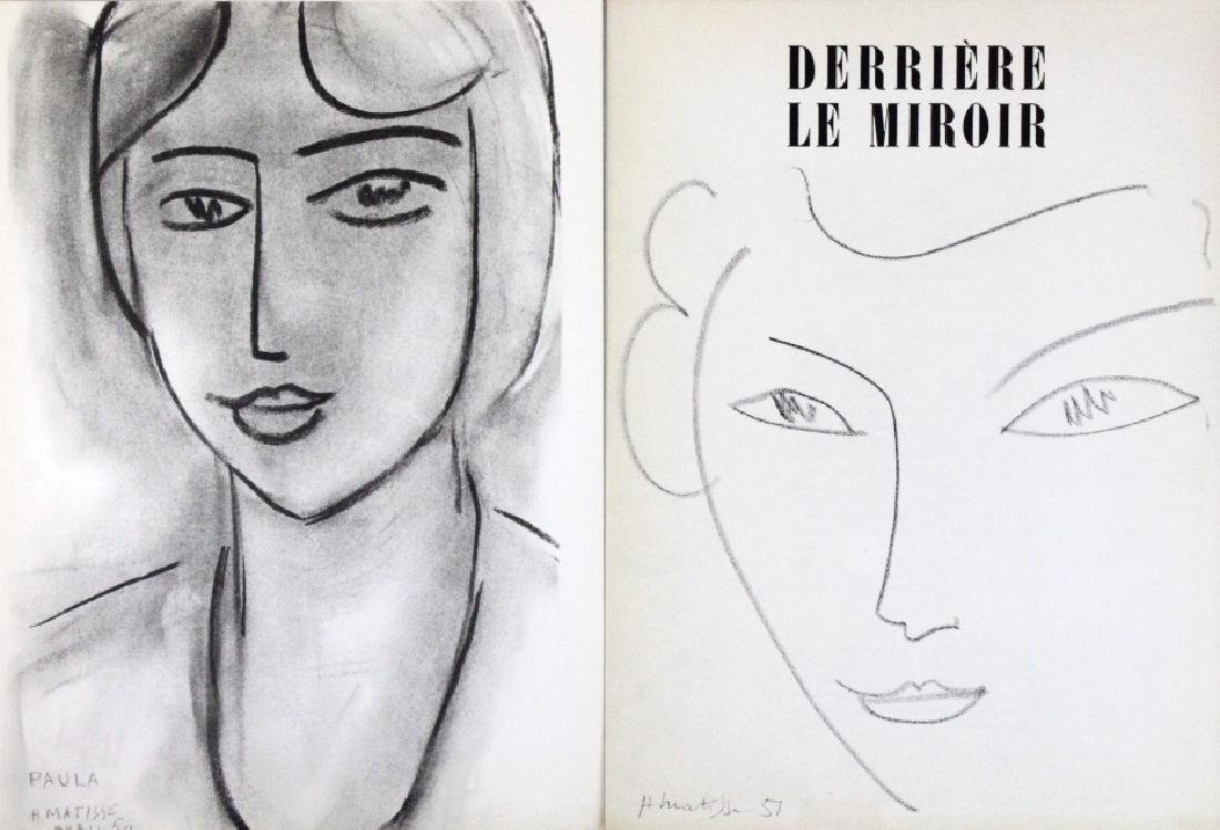 10 Calder Matisse Chagall Color Litho Bookplates - 5