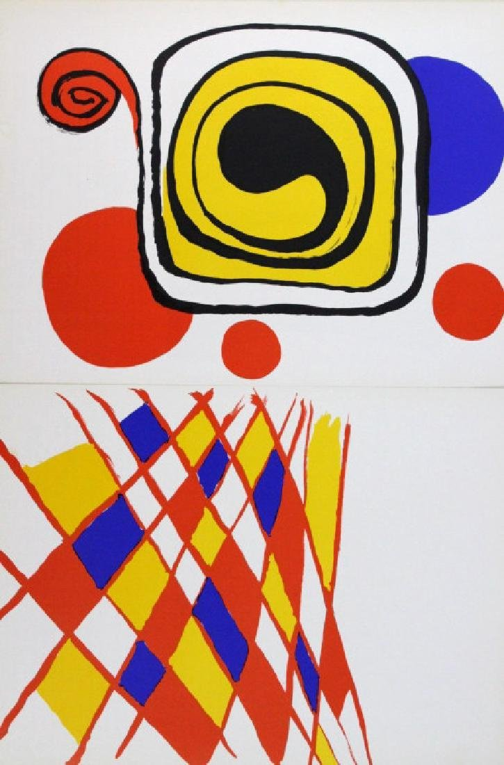 10 Calder Matisse Chagall Color Litho Bookplates - 6