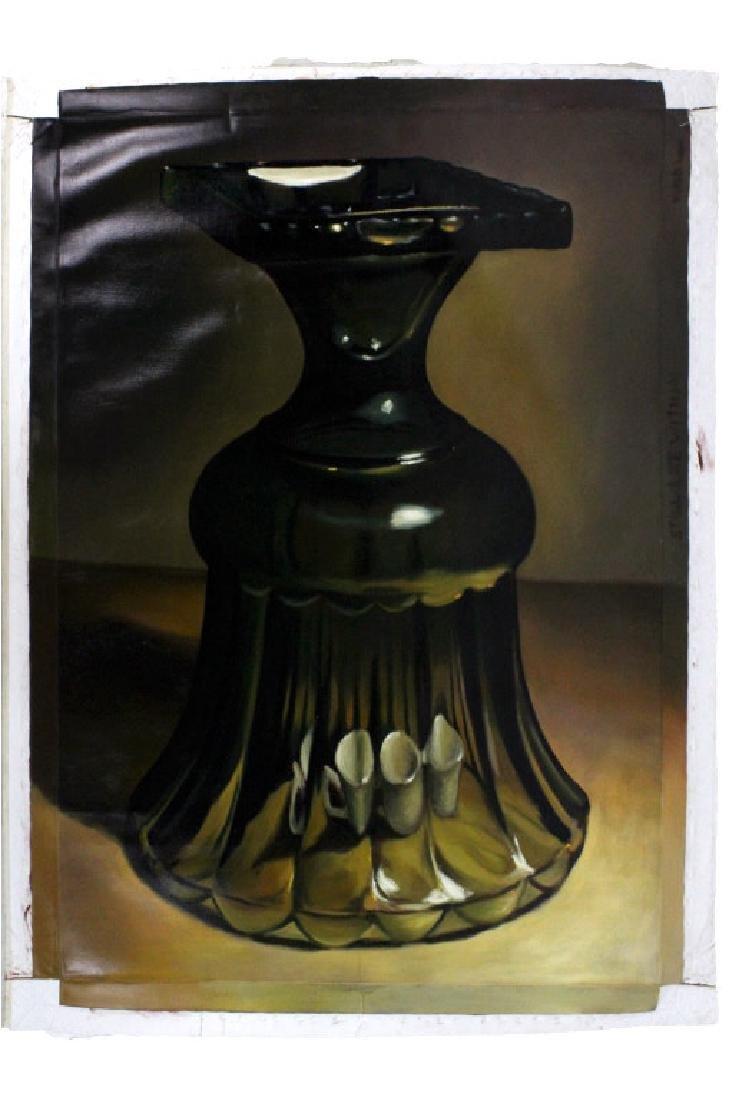 Andres Vidal Still Life Oil Painting 60x48 BASS MUSEUM