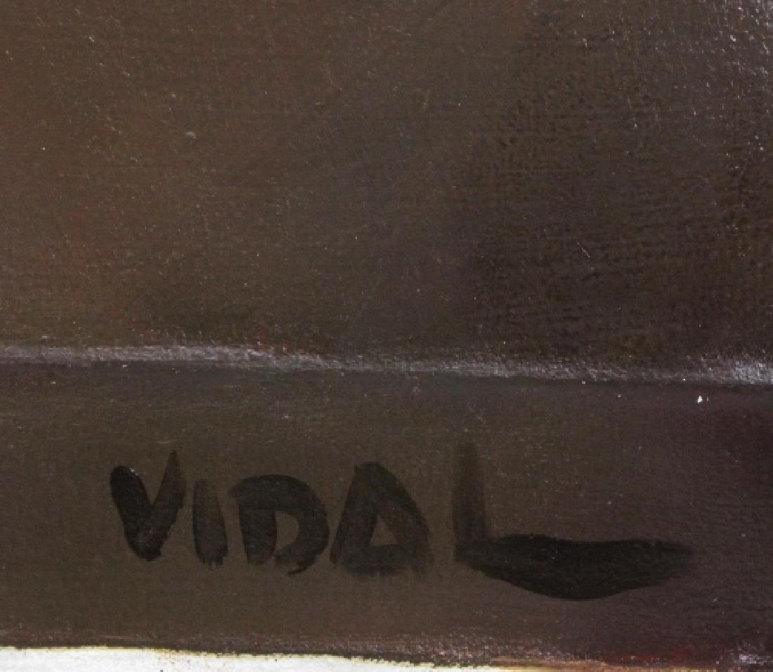 Andres Vidal Still Life Oil Painting 60x48 BASS MUSEUM - 4