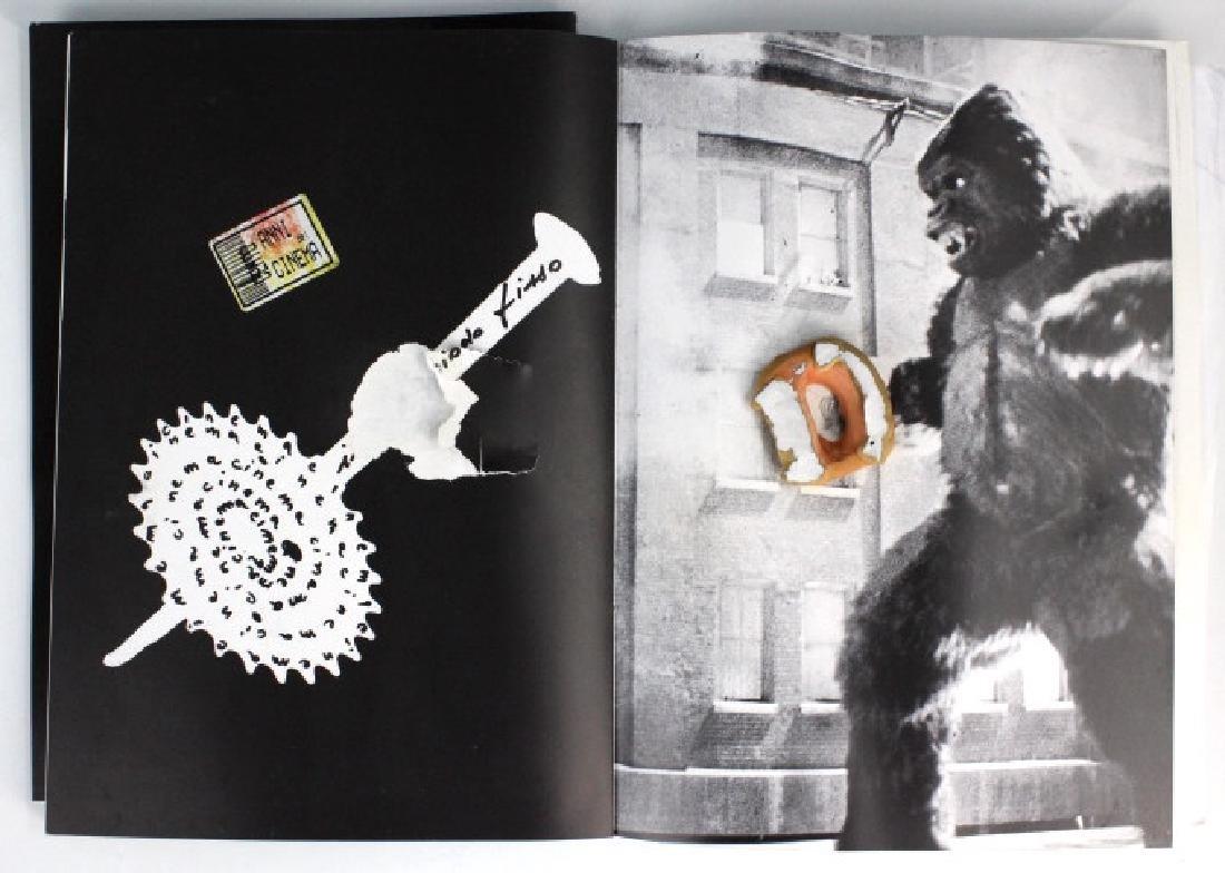 Retro Bizarre Scrap Book of Artists & Film BASS MUSEUM - 3