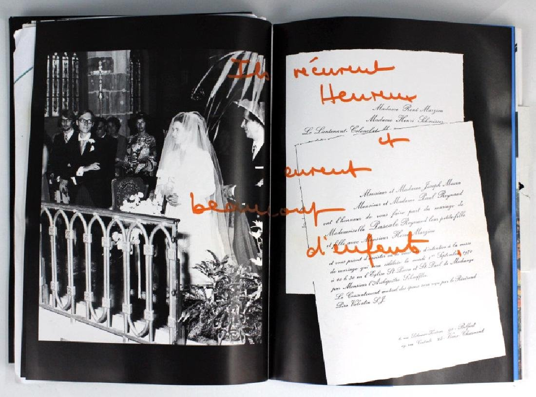 Retro Bizarre Scrap Book of Artists & Film BASS MUSEUM - 4