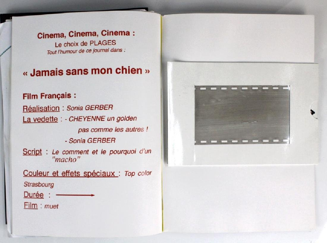 Retro Bizarre Scrap Book of Artists & Film BASS MUSEUM - 5