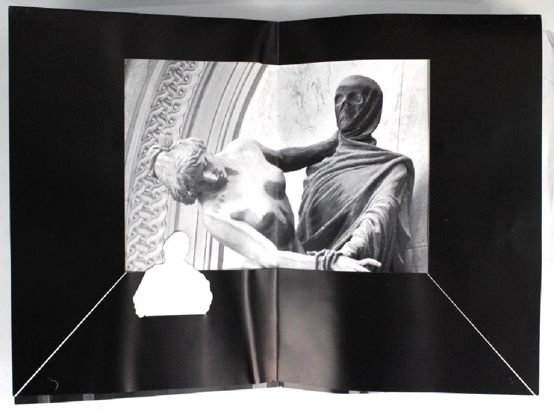 Retro Bizarre Scrap Book of Artists & Film BASS MUSEUM - 6