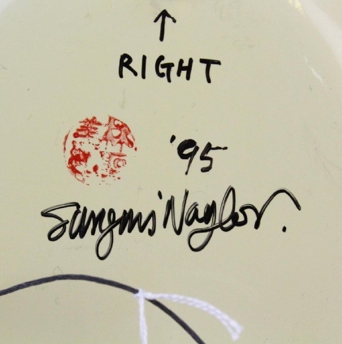 Sungmi Naylor Hand Painted Plates from BASS MUSEUM - 6