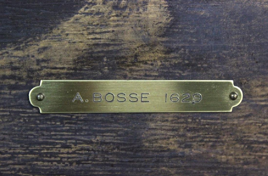 Abraham Bosse Swordsman Etching from BASS MUSEUM - 5
