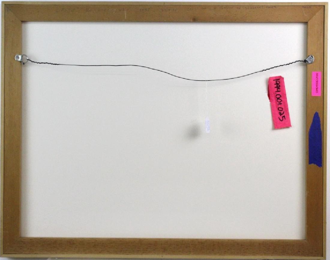 Nancy Wolf Signed Graphite Futuristic Art BASS MUSEUM - 5