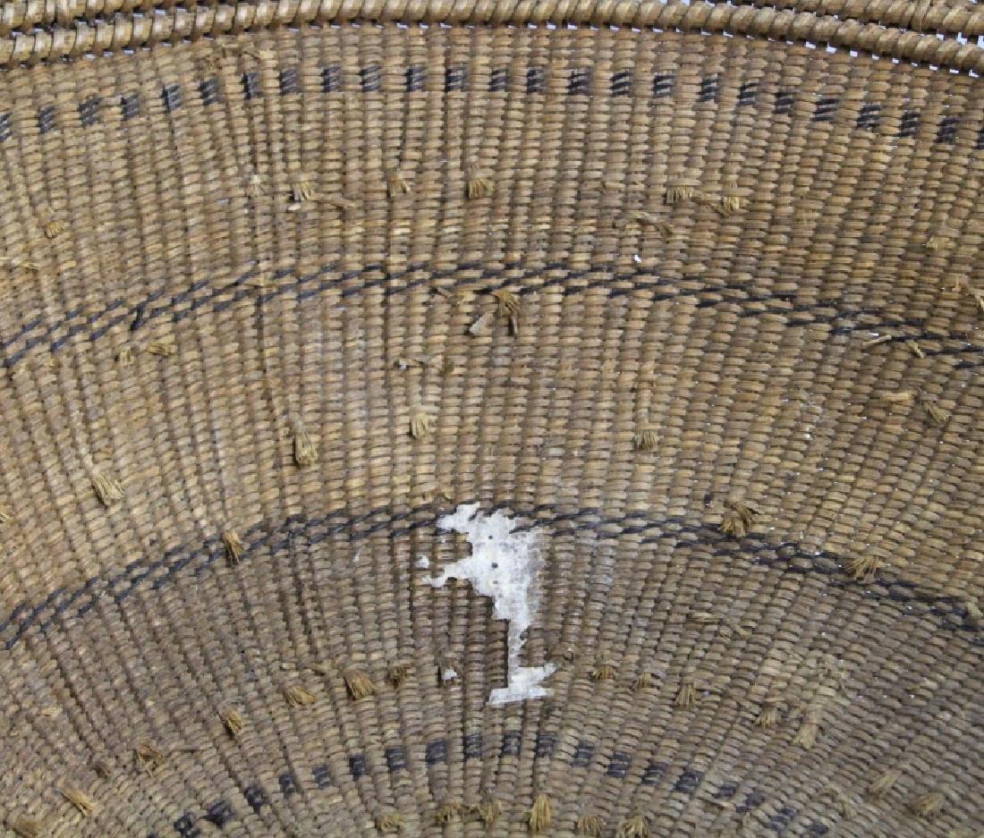 2 Native American California Hupa Baskets - 3