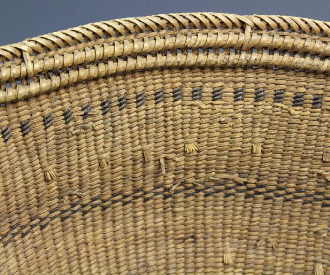 2 Native American California Hupa Baskets - 5