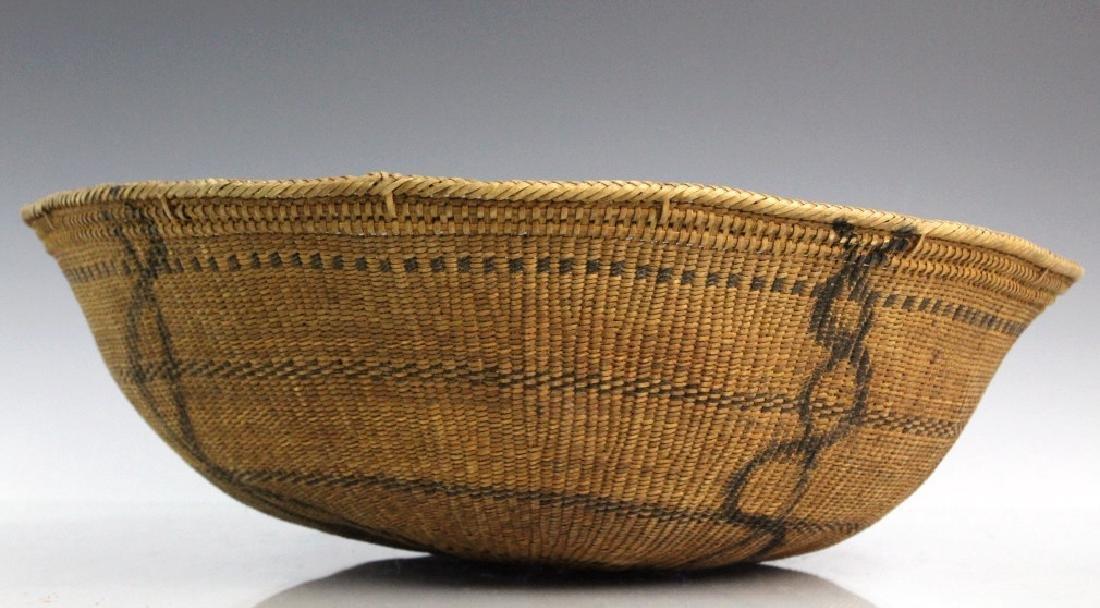 2 Native American California Hupa Baskets - 6