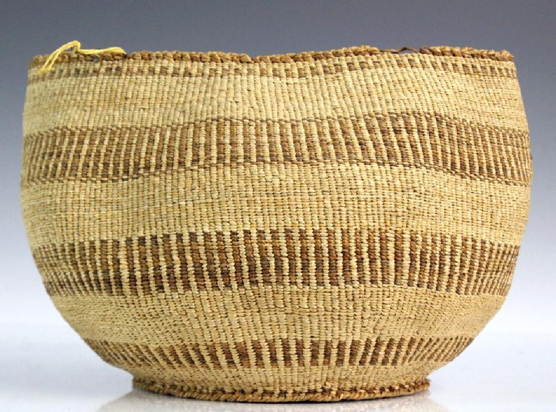 2 Native American California Hupa Baskets - 7