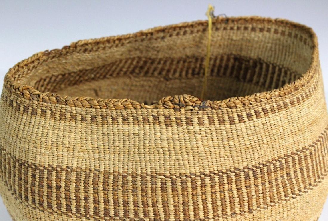 2 Native American California Hupa Baskets - 8
