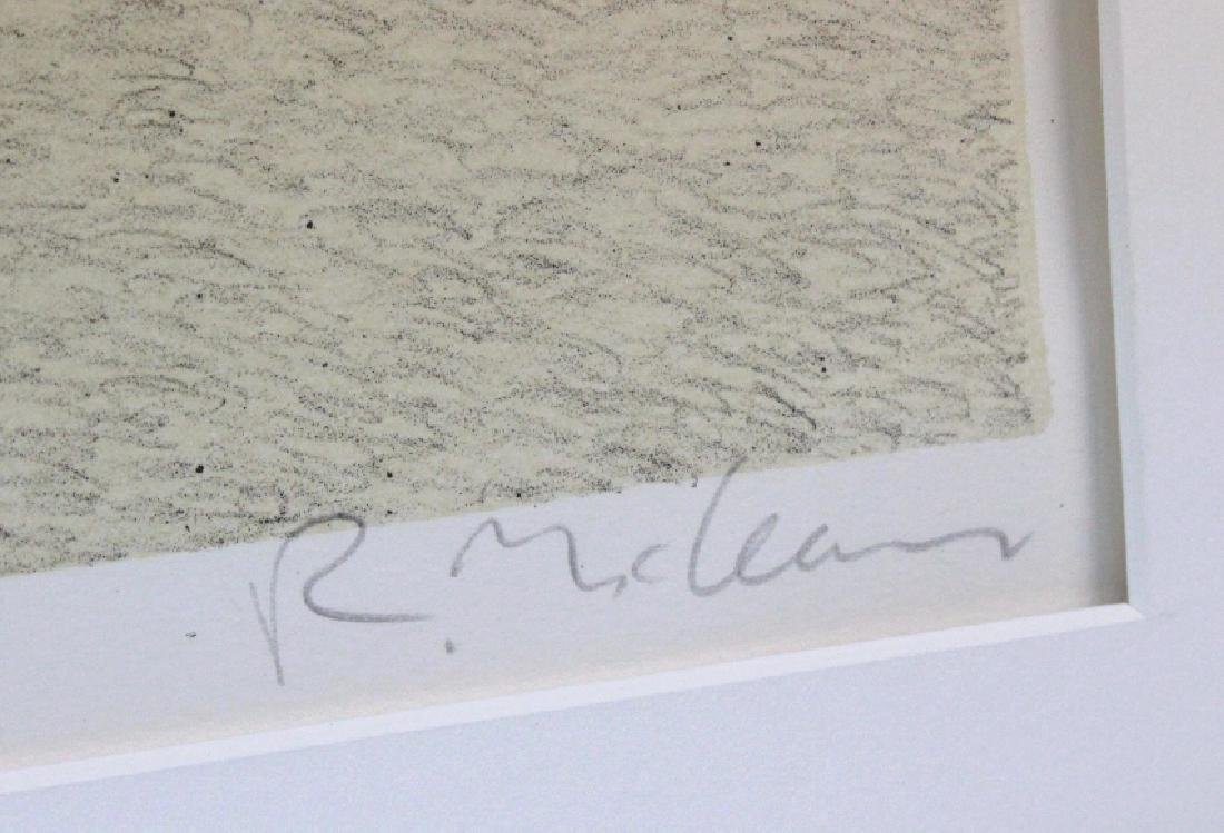 Signed Richard McLean Litho Greentree's BASS MUSEUM - 4