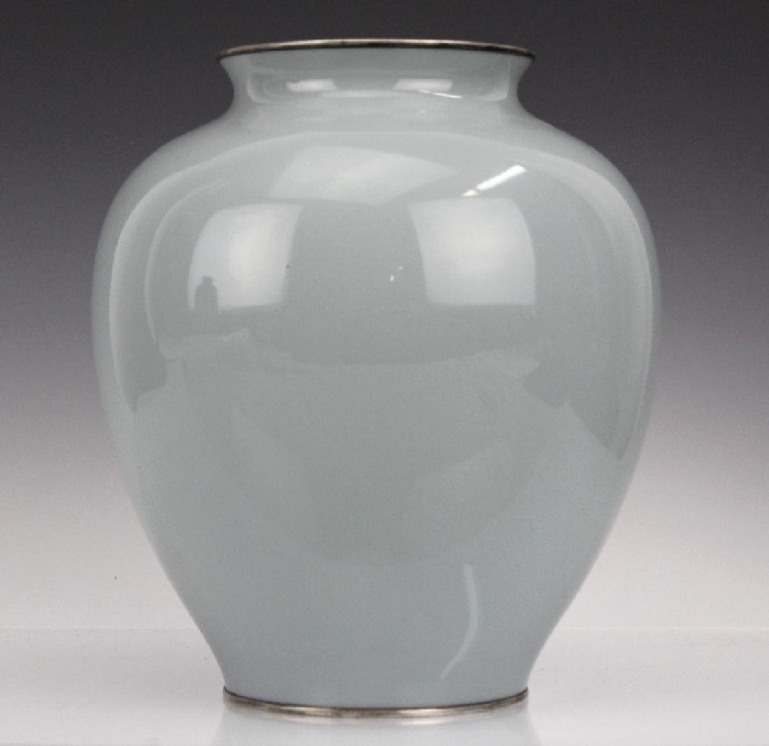 Vintage Ando Jubei Studio Cloisonne Enamel Vase - 5