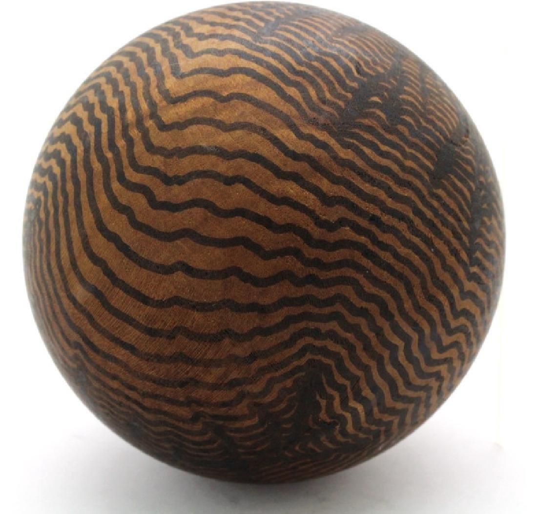Henry Charles Pearson Wood Ball from BASS MUSEUM