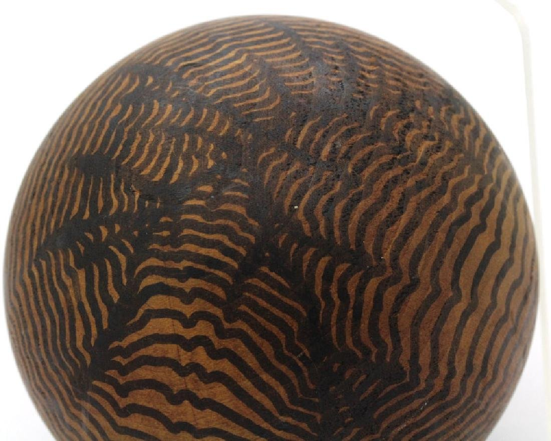 Henry Charles Pearson Wood Ball from BASS MUSEUM - 2