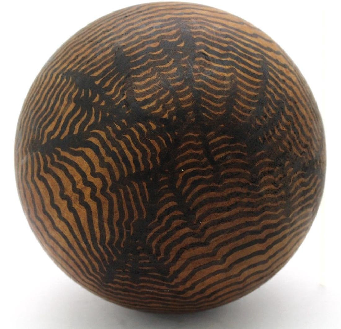 Henry Charles Pearson Wood Ball from BASS MUSEUM - 3