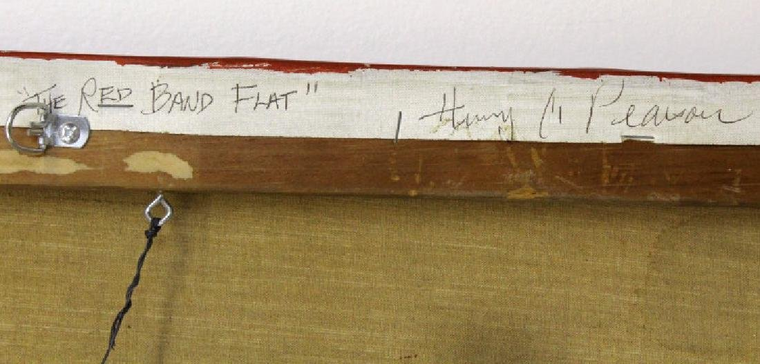 Henry Charles Pearson Red Band Flat 1967 BASS MUSEUM - 4