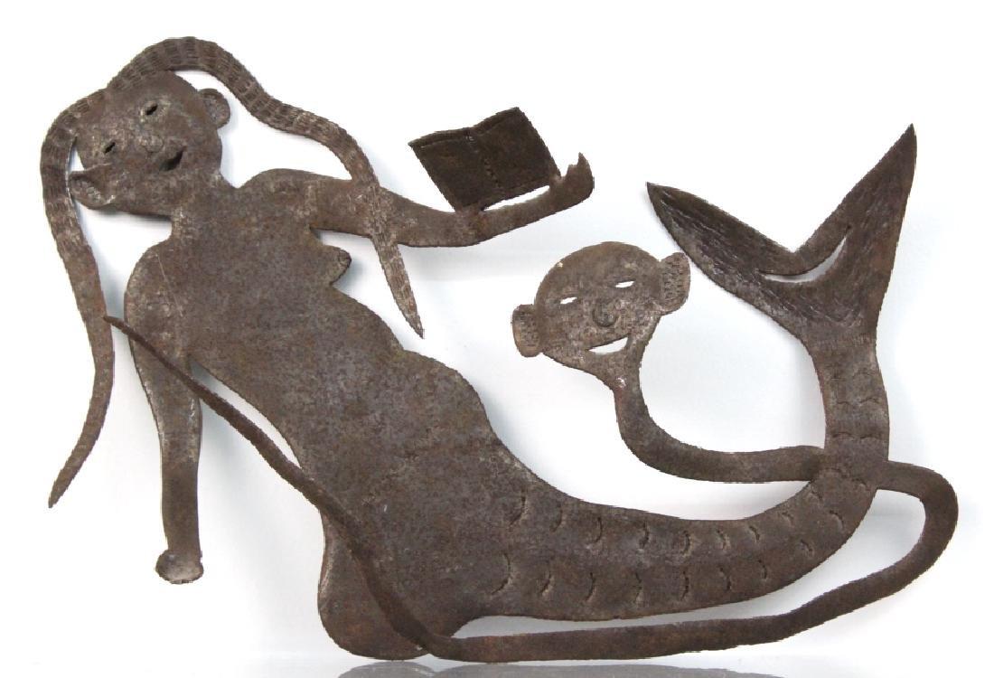 G. Bien-Aime Yemanja Mermaid Sculpture BASS MUSEUM