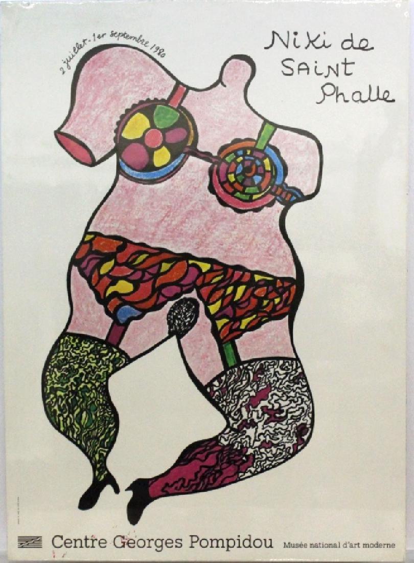 Niki de Saint Phalle Poster Paris from BASS MUSEUM