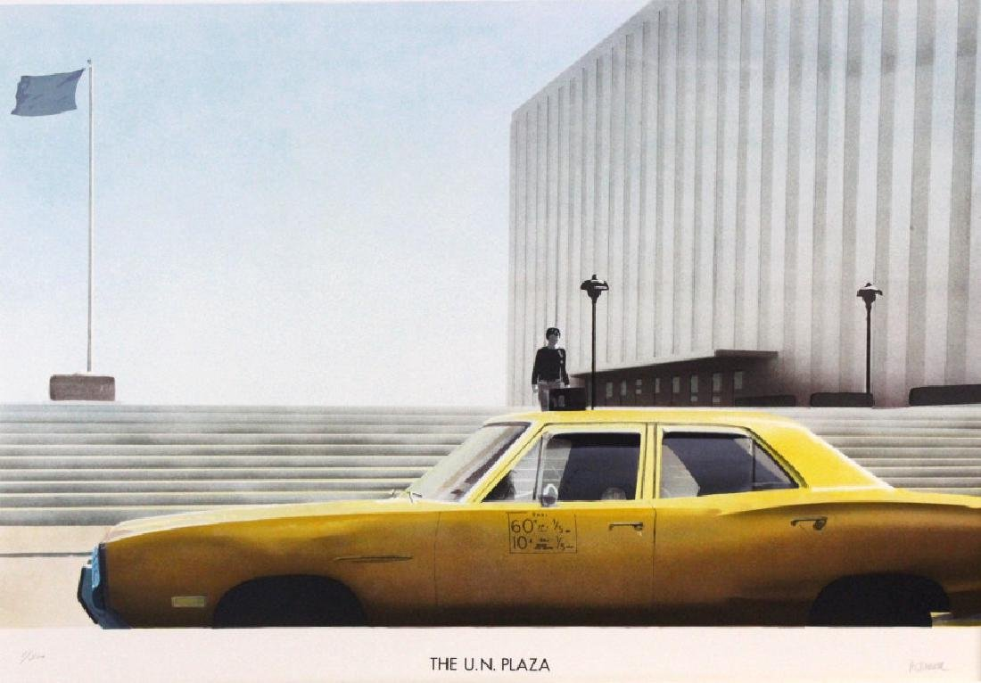 Paul Staiger Signed Litho UN Documenta from BASS MUSEUM