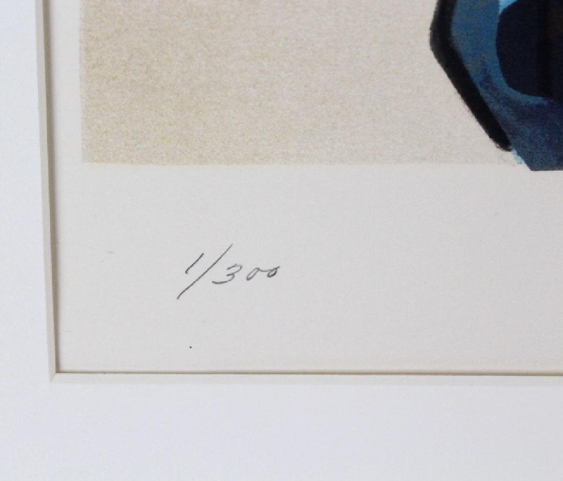 Paul Staiger Signed Litho UN Documenta from BASS MUSEUM - 2