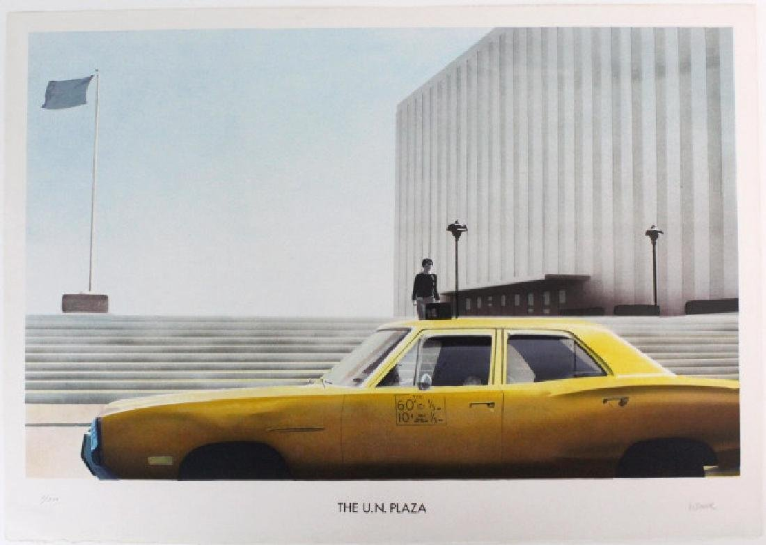 Paul Staiger Signed Litho UN Documenta from BASS MUSEUM - 5