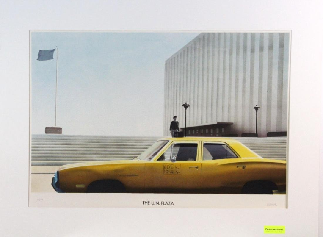 Paul Staiger Signed Litho UN Documenta from BASS MUSEUM - 6