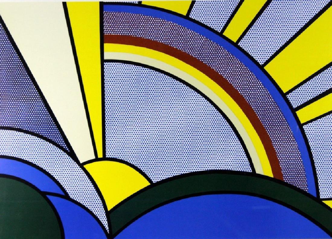 1972 Roy Lichtenstein 1923-1997 Modern Rays Poster