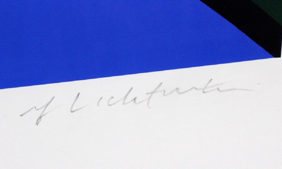1972 Roy Lichtenstein 1923-1997 Modern Rays Poster - 3