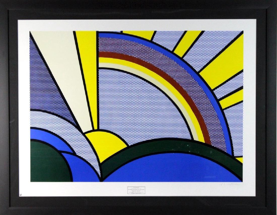 1972 Roy Lichtenstein 1923-1997 Modern Rays Poster - 4