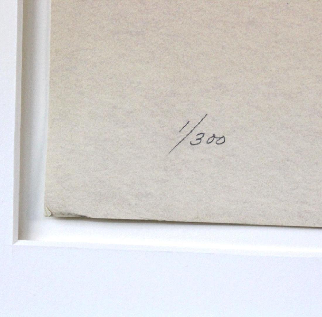 Signed Robert Alan Bechtle Litho from BASS MUSEUM - 4