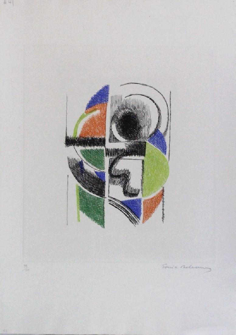 Sonia Terk Delaunay Litho Le Rythme III BASS MUSEUM - 2