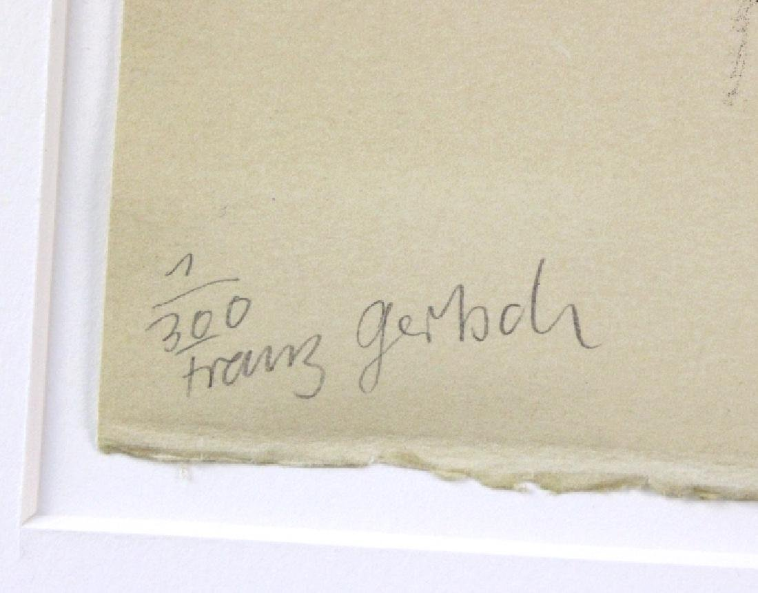 Franz Gertsch Litho Jean Frederic Schnyder BASS MUSEUM - 4