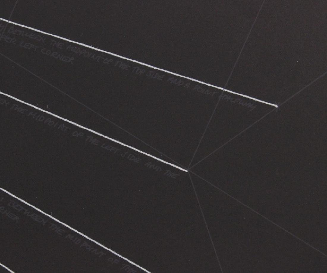 Sol LeWitt Signed Etching Geometric Lines BASS MUSEUM - 6