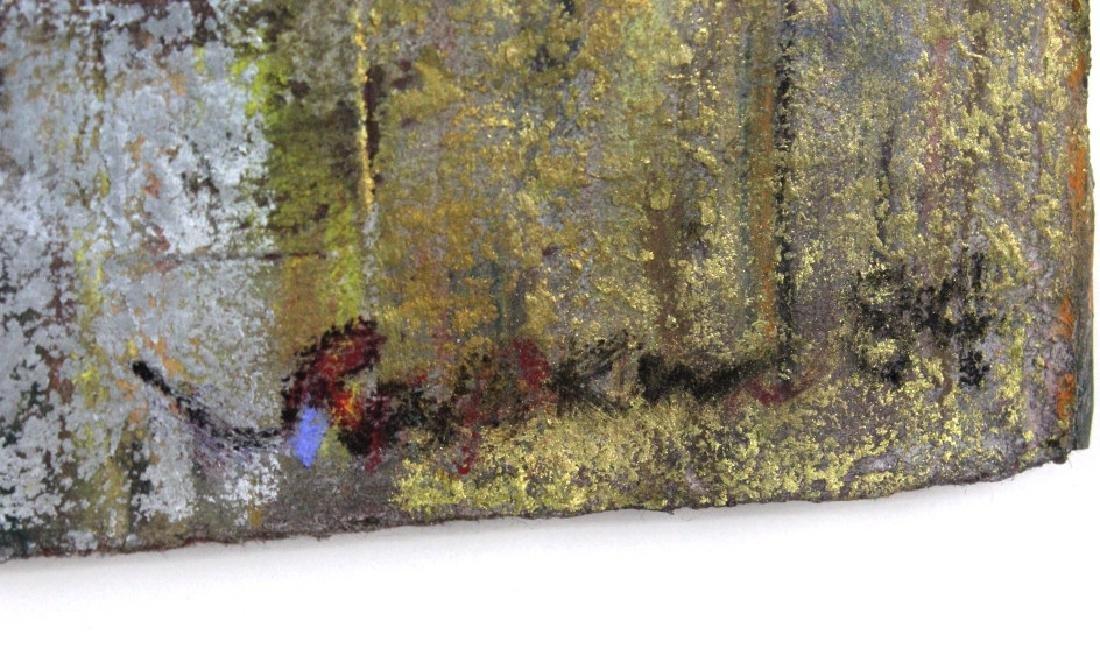 Leo Rabkin Signed Metallic Funky Pastel BASS MUSEUM - 3
