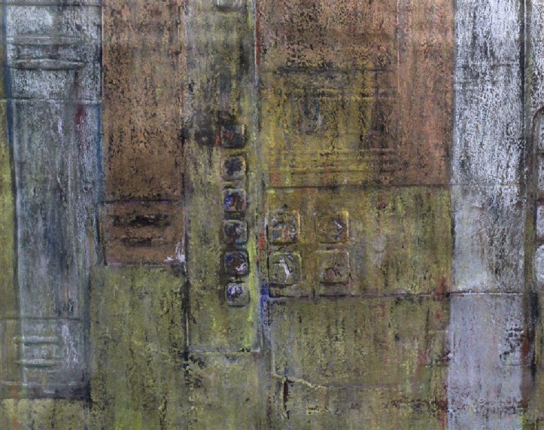 Leo Rabkin Signed Metallic Funky Pastel BASS MUSEUM - 4