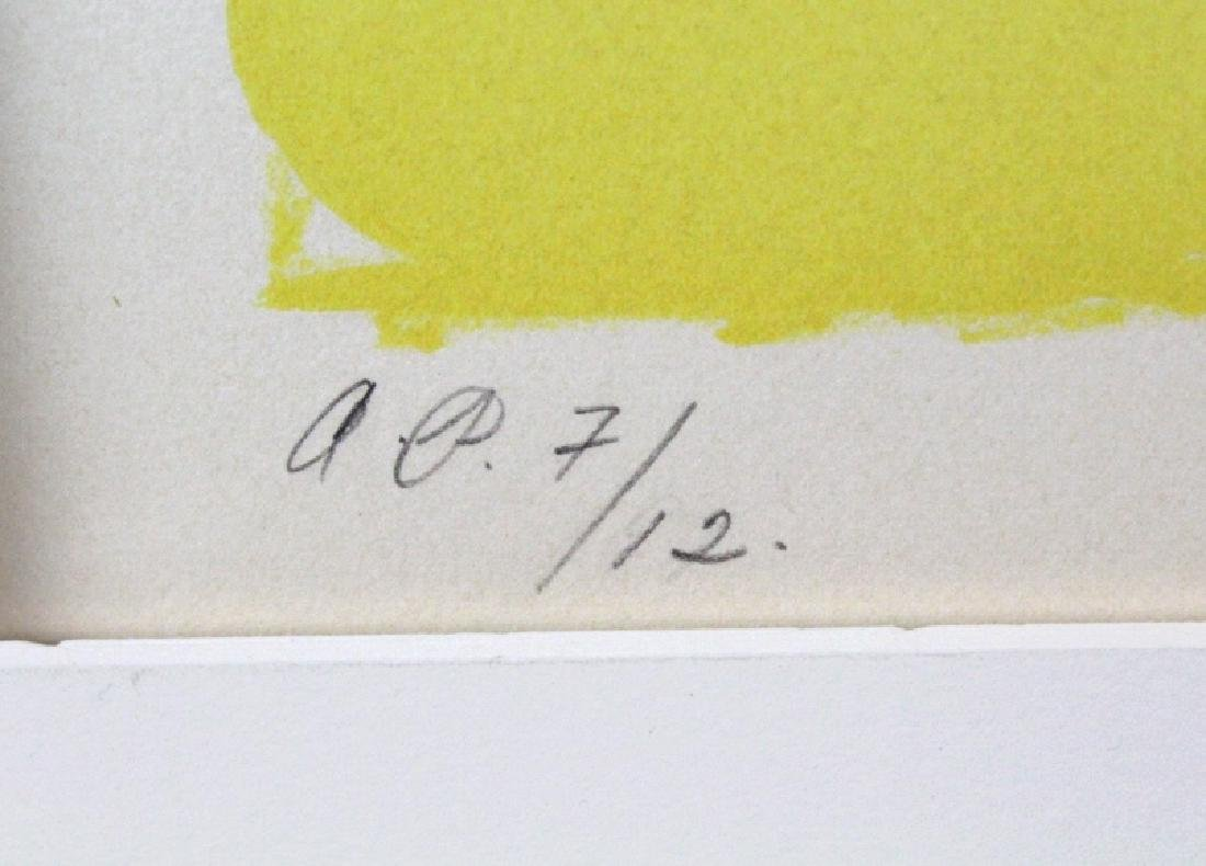 Herbert Gentry Signed AP Faces Litho from BASS MUSEUM - 5