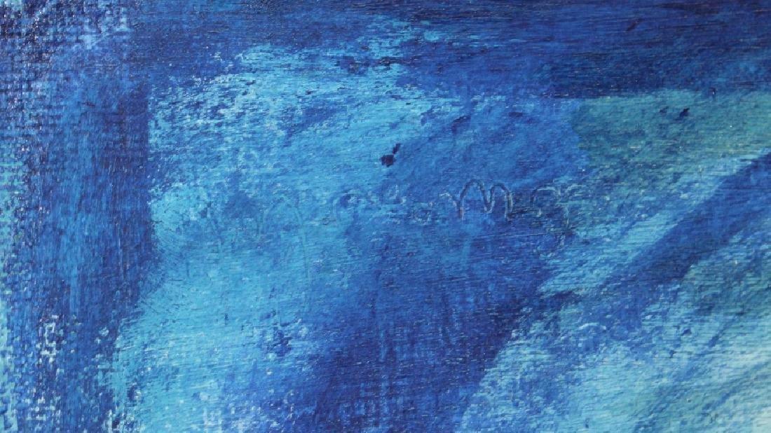 Louis Slobodkin Modern Female Nude Painting BASS MUSEUM - 3
