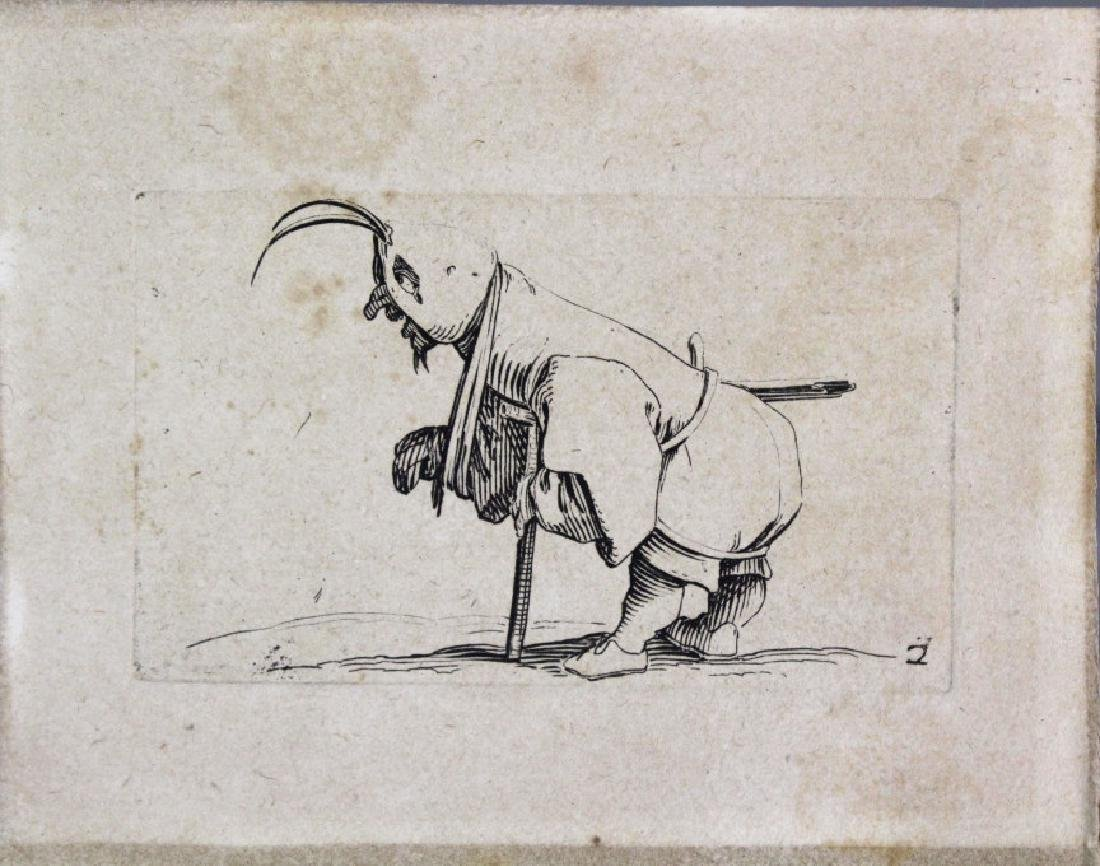 Jacgues Callot Collection of 3 Etchings BASS MUSEUM - 5