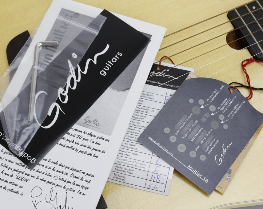 GODIN Multiac ACS-SA  Acoustic Electric Guitar - 9