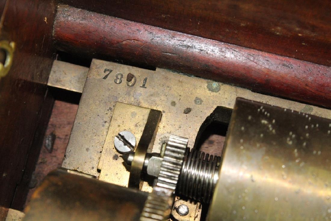 Antique Victorian Era Swiss Cylinder Music Box - 2