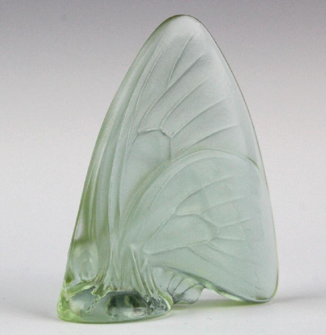 5 x LALIQUE France Art Glass Butterfly Figurine - 4