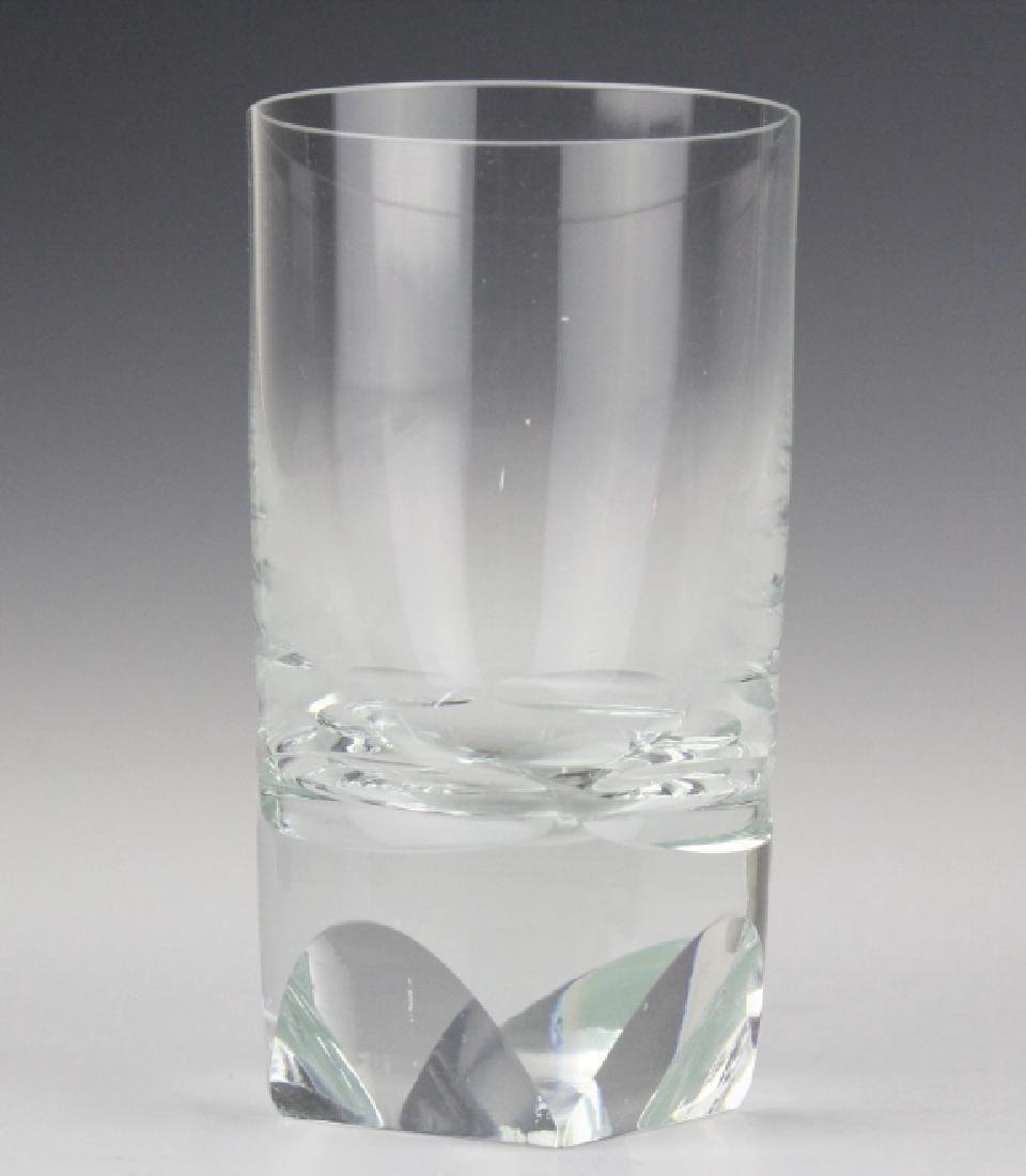 SET of 6 MOSER Bohemian Crystal Tumbler Glasses - 3