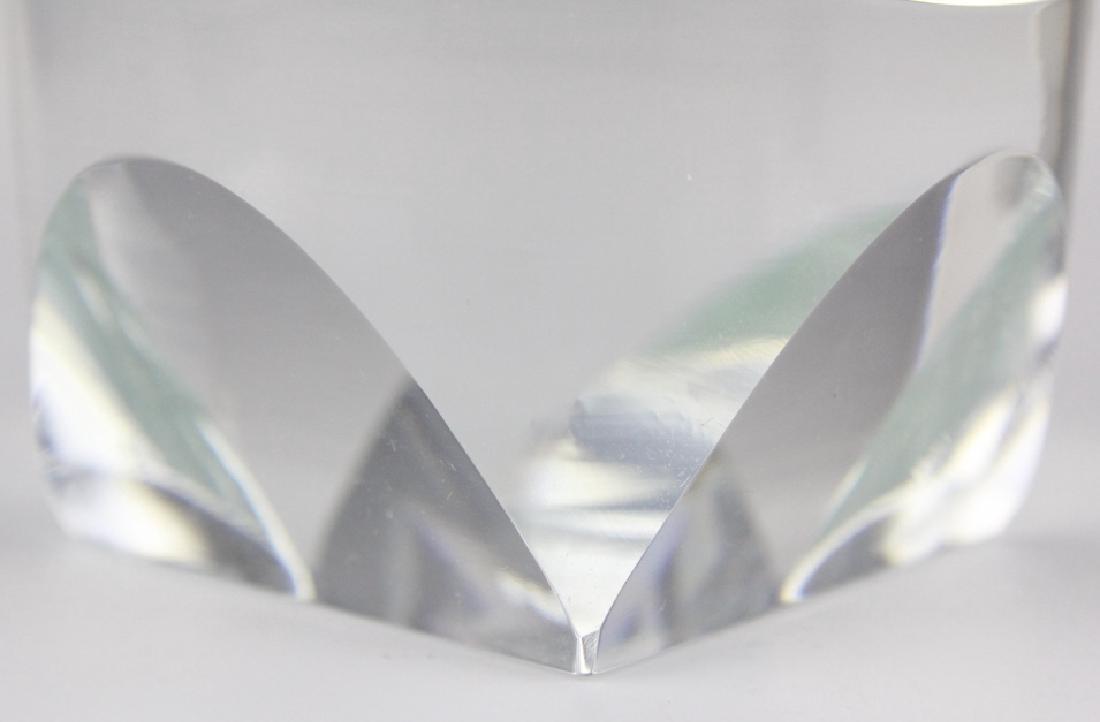 SET of 6 MOSER Bohemian Crystal Tumbler Glasses - 4