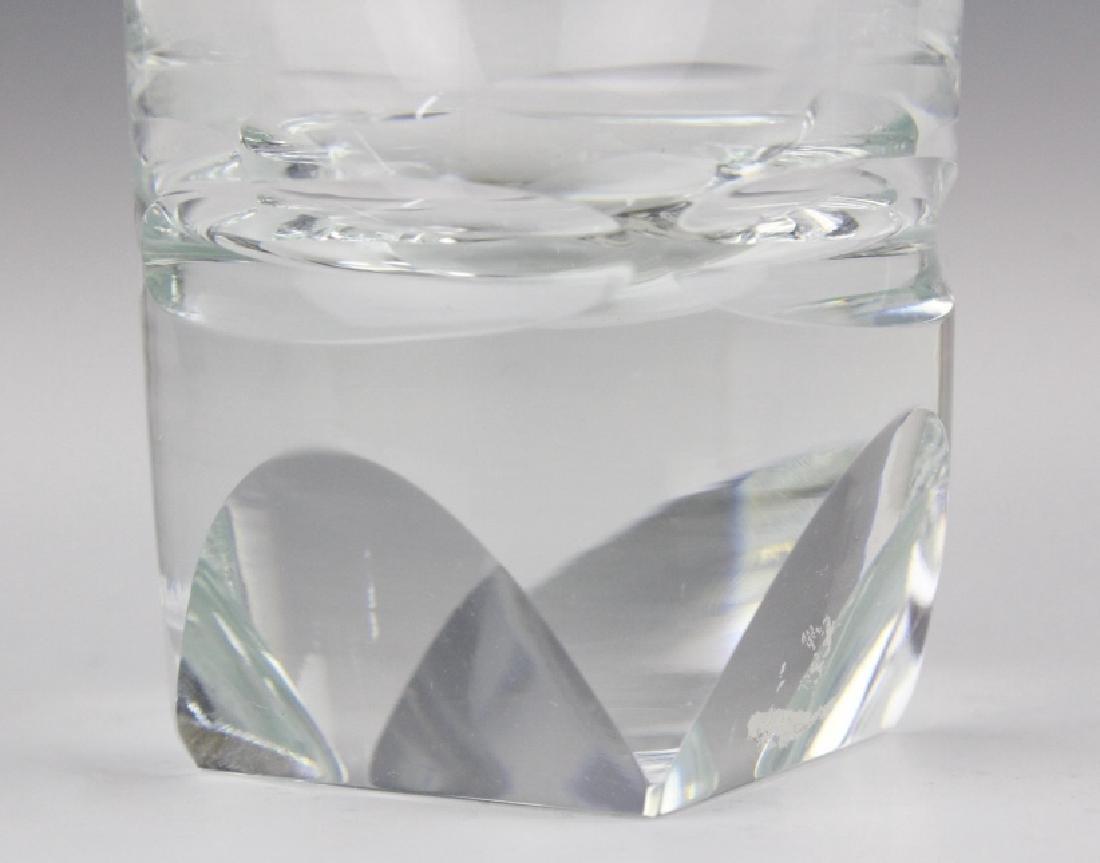SET of 6 MOSER Bohemian Crystal Tumbler Glasses - 5