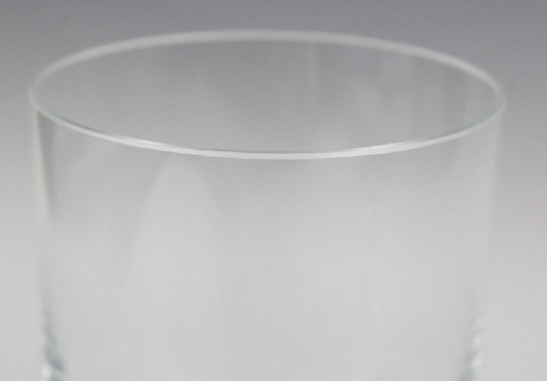 SET of 6 MOSER Bohemian Crystal Tumbler Glasses - 6