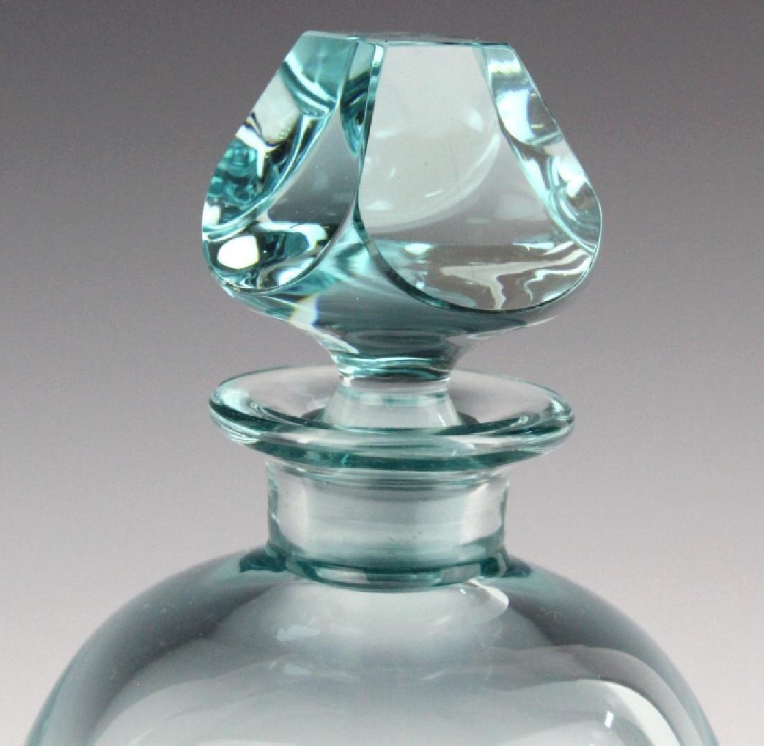 MOSER Bohemian Crystal BAR Decanter & 6 Glasses - 4