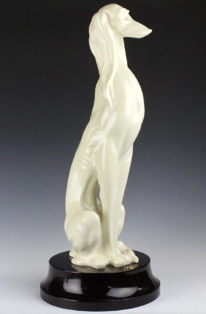 "Giuseppe Armani Saluki Hound Dog 2071L Statue 23"""